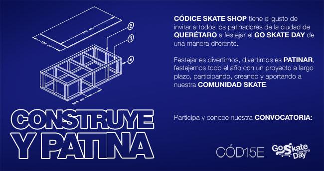 construye y patina go skate day