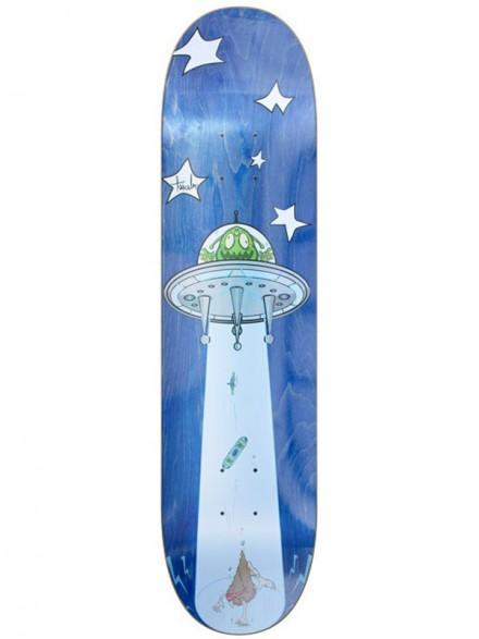 Tabla Skate Tricolor El Loco Alien 8