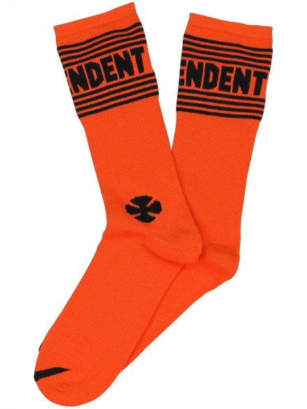 Calcetas Independent Tactic Crew Naranja