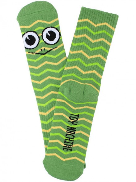 Calcetines Toy Machine Turtle Stripe Green