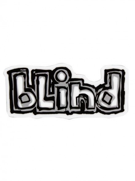 Calcomanía Blind Logo 6.7x3cm