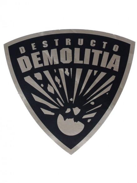 Calcomanía Destructo Demolita 10.5x10.5cm