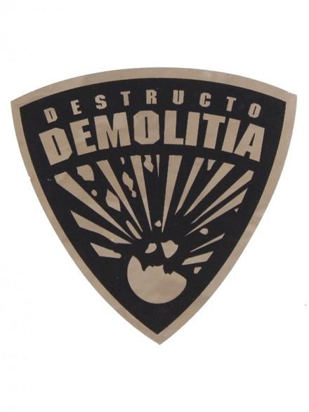 Calcomanía Destructo Demolita 4.7x4.7cm