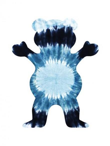 Calcomania Grizzly Eclipse Tie-Dye Black 12.7X10cm