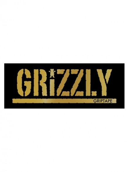 Calcomania Grizzly Gold Stamp 20X7.6cm