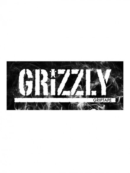 Calcomania Grizzly Hot Box Black 20X7.6cm
