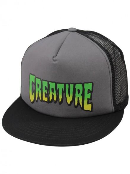 Gorra Creature Creature Logo Gris