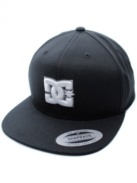 Gorra DC Snappy Black