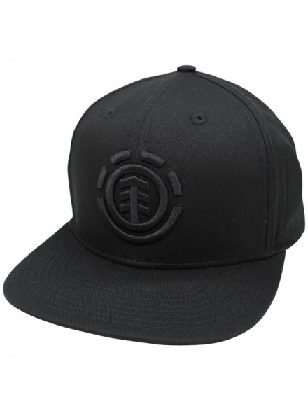 Gorra Element Knutsen Black Black