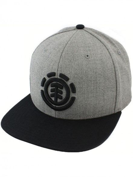 Gorra Element Knutsen Grey Heather