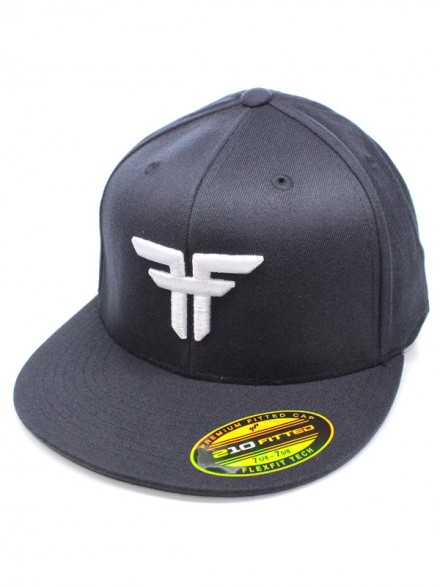 Gorra Fallen Trademark 210 Flex Fit Midnight Blue Wht
