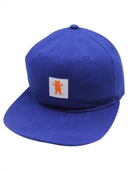 Gorra Grizzly Field Washed Blue