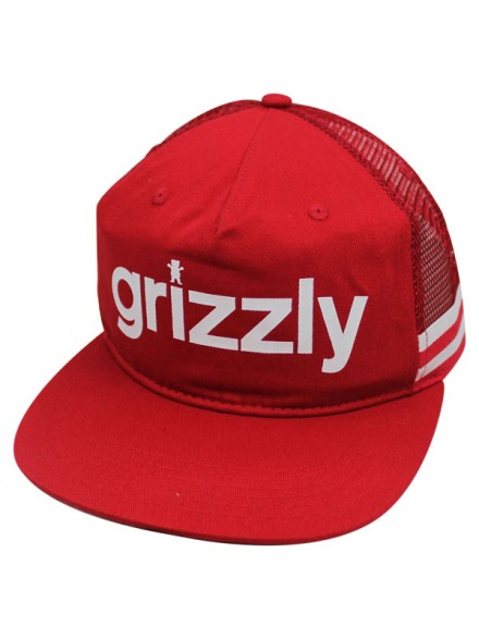 Gorra Grizzly Heritage Outdoor Red