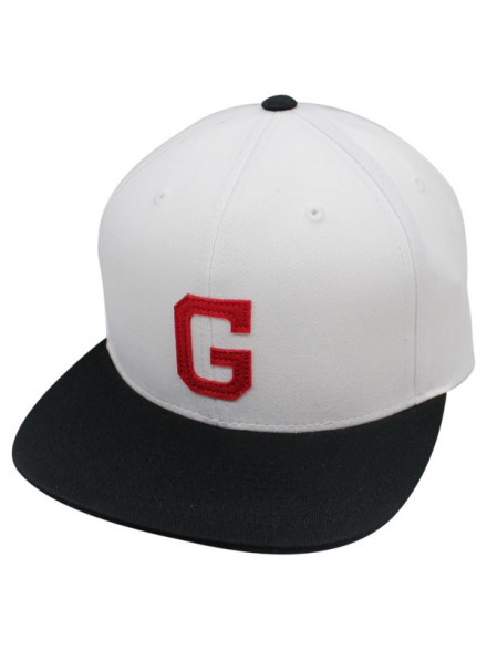 Gorra Grizzly On Field G White