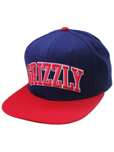 Gorra Grizzly Top Team Snapback Navy