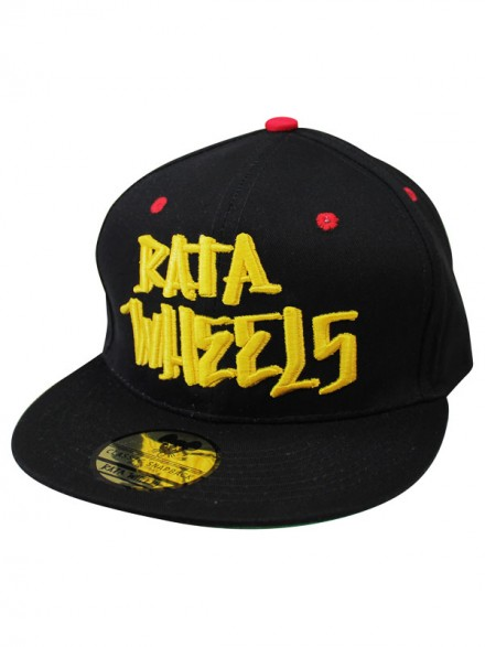 Gorra Rata Wheels Og Logo Negro Amarillo