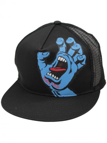 Gorra Santa Cruz Screaming Hand Negro