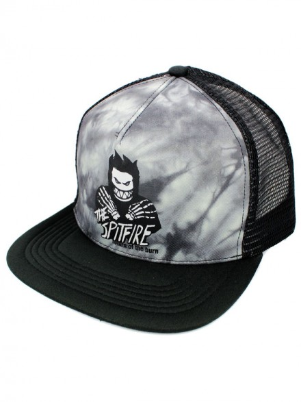 Gorra Spitfire Return Of The Burn Tie Dye Black