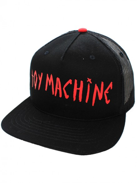 Gorra Toy Machine Sect Eye Ii Mesh Blk