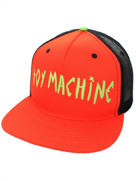 Gorra Toy Machine Sect Eye Ii Mesh Orange