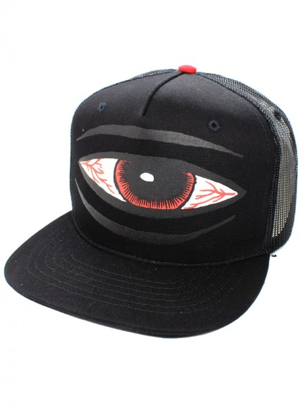 Gorra Toy Machine Sect Eye Trucker Blk
