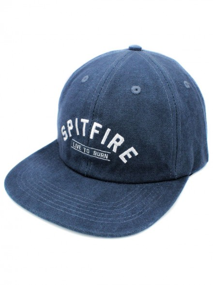 Gorra Spitfire Live To Burn Chambray
