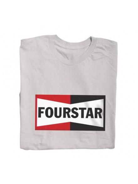 Playera Fourstar Champion Silver S