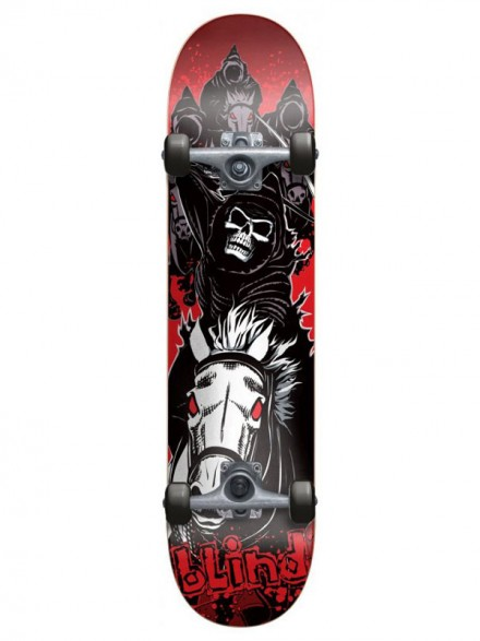 Patineta Completa Blind Four Horsemen Blk/Red 7.5