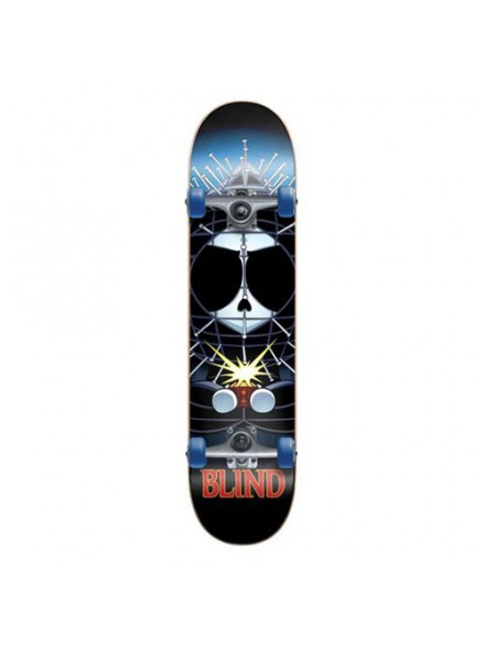 Patineta Completa Blind Kingpin Kenny Blk Red 7.6