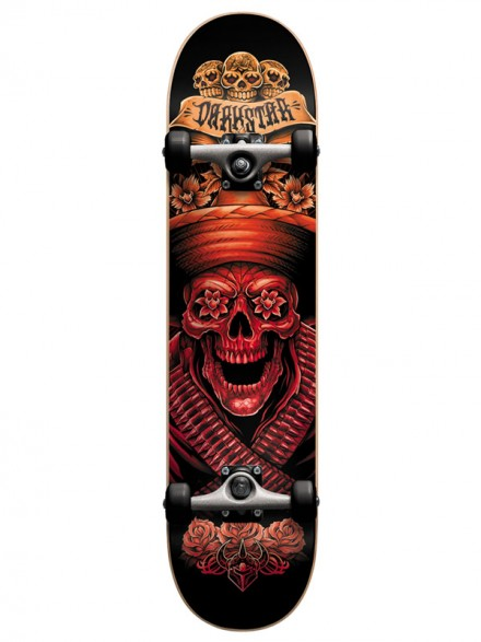 Patineta Completa Darkstar Bandito Red 8