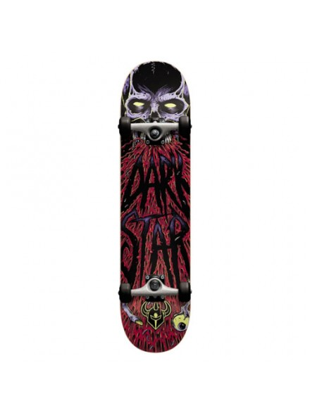 Patineta Completa Darkstar Zombie Red 8