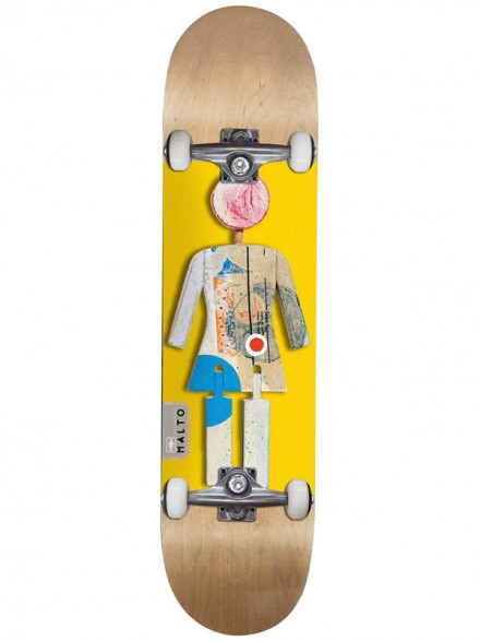 Patineta Completa Girl Malto On Exhibit 7.875