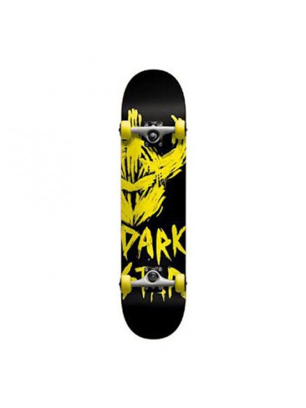 Patineta Completa Darkstar Asylum Yellow 7.9