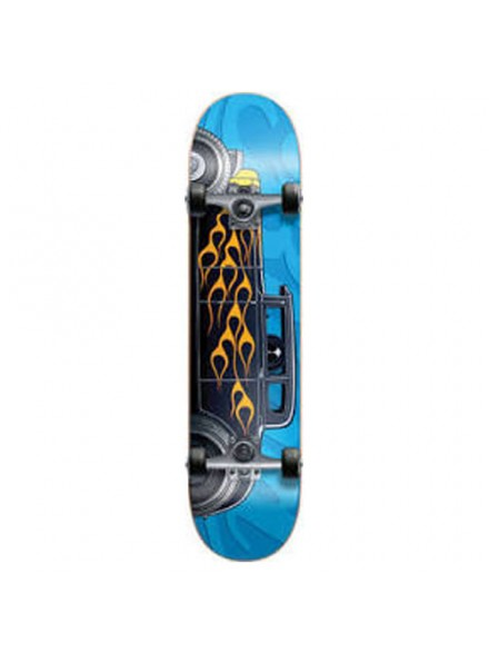 Patineta Completa Blind Hot Rod Blue/Black 7.5