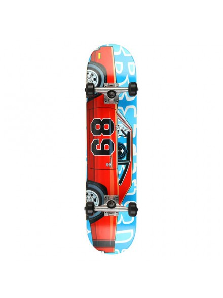 Patineta Completa Blind Muscle Car Red/Blue 7.5
