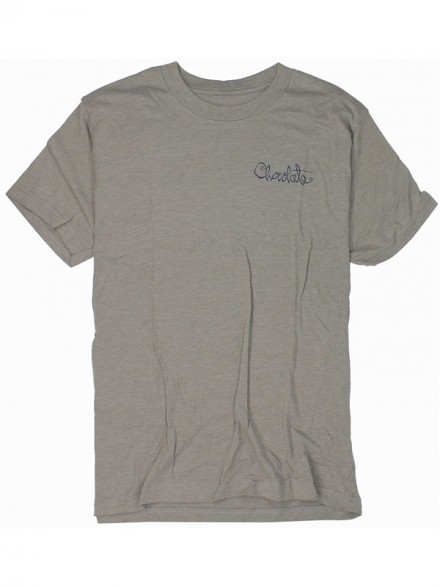 Playera Chocolate Og Script Vintage Grey