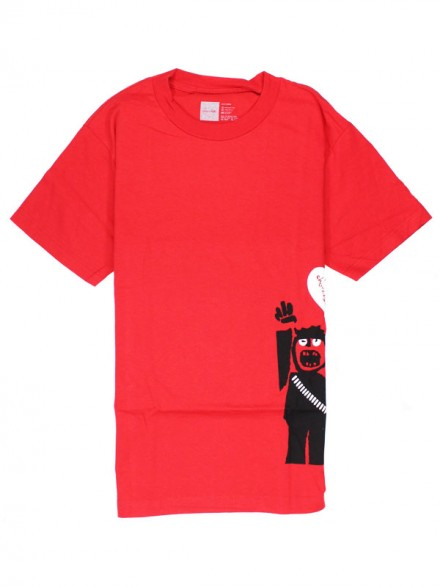 Playera Chocolate Protest Red