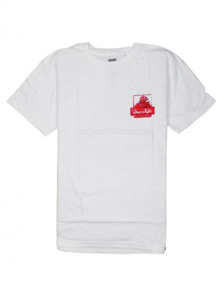 Playera Chocolate X-Late White