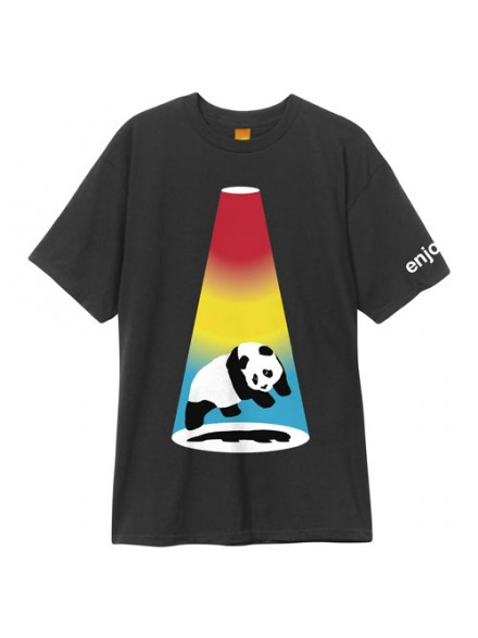 Playera Enjoi Abduction S/S Blk S
