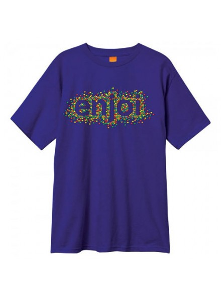 Playera Enjoi Candy Coated S/S Purple