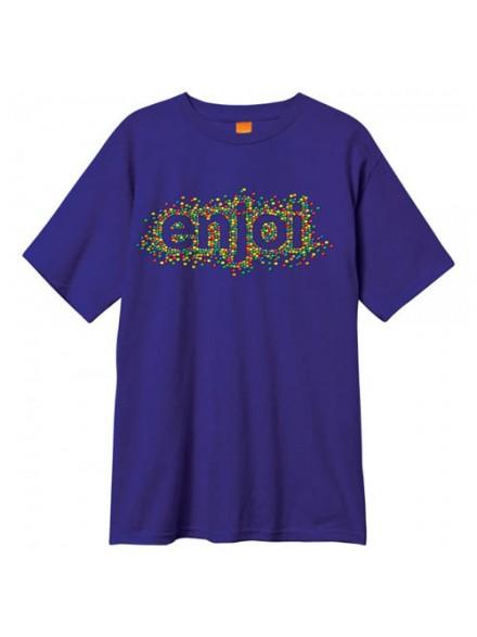 Playera Enjoi Candy Coated S/S Purple