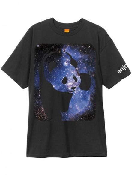 Playera Enjoi Cosmos Panda Blk