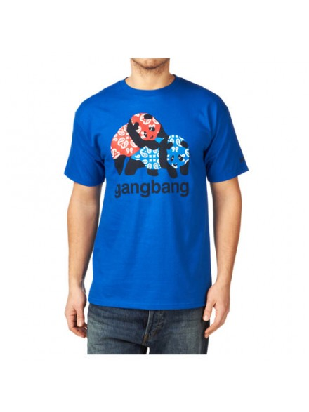 Playera Enjoi Gangbang S/S Royal M