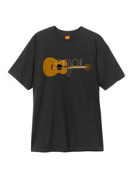 Playera Enjoi Guitarded S/S Black S