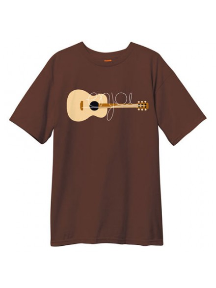 Playera Enjoi Guitarded S/S Dark Chocolate S