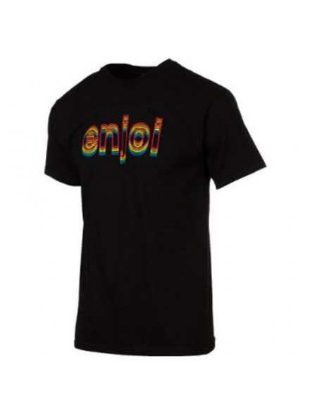 Playera Enjoi Outlines S/S Black S