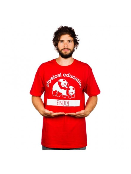 Playera Enjoi P.E. S/S Red M