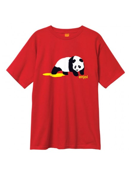Playera Enjoi Panda Pee S/S Red S