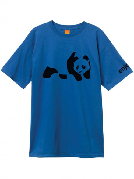 Playera Enjoi Panda Roy Blk