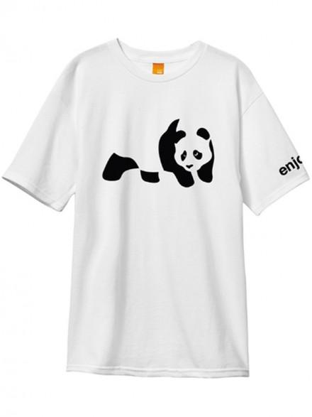 Playera Enjoi Panda Wht